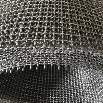 Rostfritt stål Crimped Woven Wire Mesh