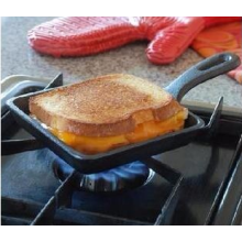 Pre-seasoned Square Mini Fry Pan