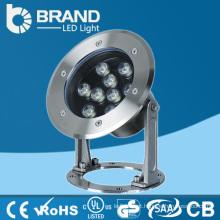 Luzes subaquáticas da luz do diodo emissor de luz do RGB do poder superior, CE & RoHS