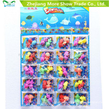 Colorful Crystal Soil with Growing Fish Water Growing Toys