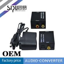 SIPUO Digital a Audio analógico convertidor dc 12v a 6v convertidor de corriente de los medios de comunicación