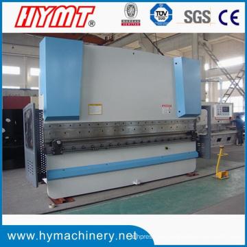 Máquina dobladora de placa de acero Wc67y-100X3200 y máquina plegable hidráulica