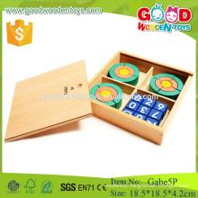 froebe 5p wooden circle toys preschool gabe educational toys
