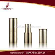 LI21-1 Contenedor de lápiz labial de imán de aluminio de mejor venta, recipiente de lápiz labial vacío, recipiente de lápiz labial mate