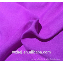 Factory cheap price 100% polyester microfiber twill peach skin solid color fabric