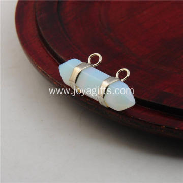 2016 Trendy Pendant out of Opalite Hexagonal Bicone for Birthday Gift