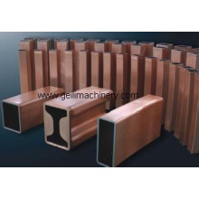 Tubo de molde de cobre para la planta de fabricación de acero