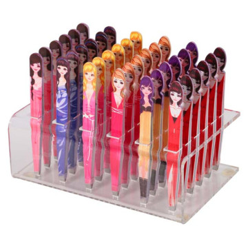Kawaii puppe muster professionelle make-up augenbraue pinzette
