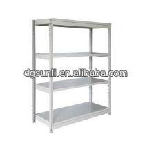 estantería de ángulo ranurado ajustable estructura de acero almacén