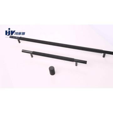 Drawer matt Black aluminium door pulls handles