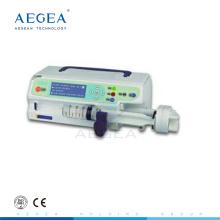 AG-SP001 bien reçu hôpital monocanal électrique instrument médical prix de pompe à seringue