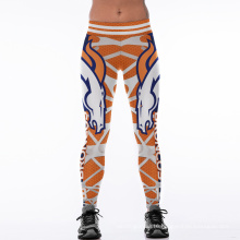 Amazon Hot Sale 3D Digital Printing Sport Gym Pants Clothes Leggings 2039