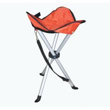 Алюминиевый складной стул 3-ноги