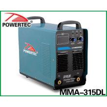 Soldadora de doble potencia MMA-315dl (MMA-315DL)