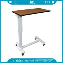 AG-Obt011 Table mobile sur table de lit avec roulettes