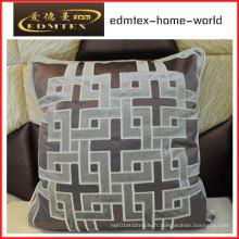 Coussin décoratif en broderie Fashion Velvet Pillow (EDM0282)