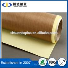 O mais melhor vendedor na fita de alta temperatura ptfe da selagem da caixa de Alibaba A fita adesiva de Teonic da fita de Taconic dos EUA revestiu a fibra de vidro para a máquina do pacote