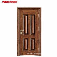 TPS-119 High Quality Cheap Exterior Ghana Fabricated Steel Doors