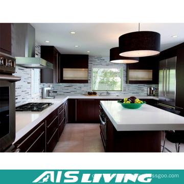 Meubles faits sur commande et modulaires de meubles de cuisine de couleur double (AIS-K914)