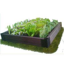 Popular Flower Box Factory Direct Sale Durable Flower Bed DIY Landscape Decoration WPC Flower Pots