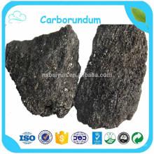 Briqueta negra del carburo de silicio / SIC para el agente desoxidante