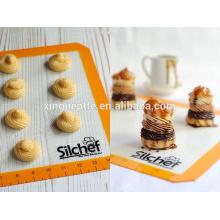 Venta al por mayor de alfombra de silicona antiadherente de la hornada de la estera establece - 2 PK Silicona Baking Sheet Mat
