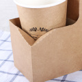Kraft Paper Coffee Cup Stand Easy Assemble