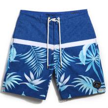 Homens Quick-Dry Beach Calças Boardshorts Surf Shorts Calções De Praia