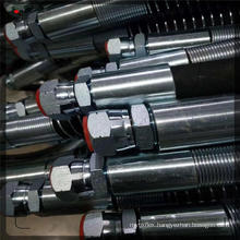 high quality steel wire  excavator hydraulic piping hose short length hammer breakers application