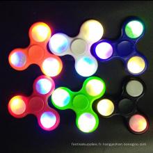 LED clignotant Fidget Spinner enfants main jouets