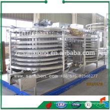 Machine de conditionnement industriel de la Chine Équipement de congélation rapide