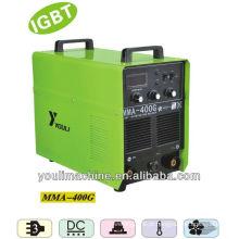 IGBT máquina de solda inversor portátil MMA soldadores MMA 400G