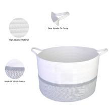 Bathroom Basket For Home Storage Cotton Braid Cheap Wholesale