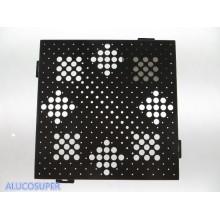 Feuille d'aluminium solide utilisée pour le mur-rideau