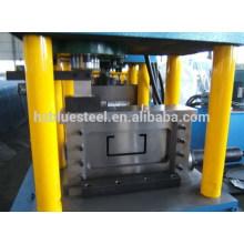 Machine de formage de rouleaux d'acier U Channel (/ perforée)