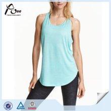 Frauen-Trägershirt-kundenspezifische Großverkauf-preiswerte italienische Sportswear