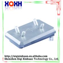Sostenedor permanente de la mano del maquillaje de la calidad superior, sostenedor permanente de aluminio de la máquina del maquillaje