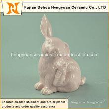 Керамические фигурки из кролика с кроликом для маленького орнамента
