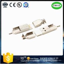 USB Plug Male Connector Mini USB Receptacle (FBELE)