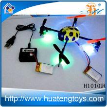 Bester Verkauf rc quadcopter Spielzeug, 2.4g 4ch rc quadcopter dringen ufo mit Lichter Spielzeug H101090 ein