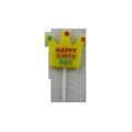 Различные стили яркие в цвете мультфильм свеча на день рождения