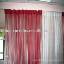 Colorful string curtain graceful