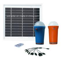 La luz solar de la venta caliente LED casera 1W a 3W es ajustable