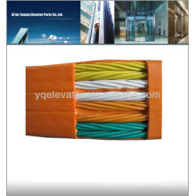 Elevator parts flat cable, lift cable
