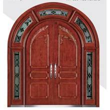 Steel Wooden Armored Door With Double Door leaf
