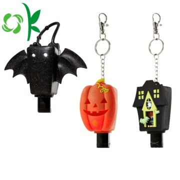 Halloween Seri Silicone Travel Hand Sanitizer Holder Cover