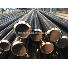 ASTM A106 GR.B черная окраска бесшовная стальная труба