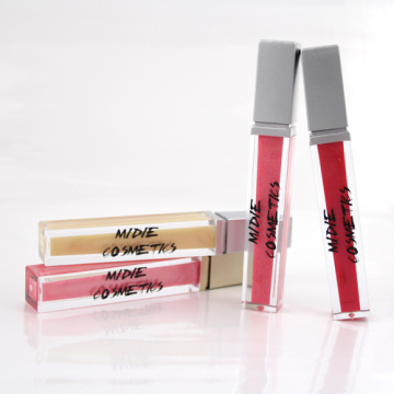 New Product Of Lip Gloss Silver Cover For Pretty And Beauty