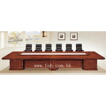 Mobilier de bureau classique Plaque de bois Table de conférence MDF Table de réunion Table de réunion exécutive (FOHSC-6041)