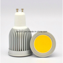 GU10 7W COB Epistar Luz LED Spot